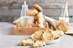 Печенье с кунжутом - фото шаг 12