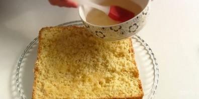 """Торт """"Подарочный"""" (простой и вкусный) - фото шаг 6"""