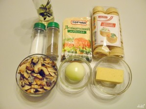 Тарталетки с грибами - фото шаг 1