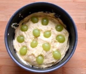 Миндальный кекс с виноградом - фото шаг 5