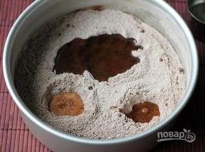 Шоколадный пирог без яиц - фото шаг 4