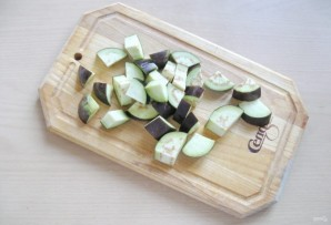 Салат из баклажанов с луком и морковью на зиму - фото шаг 2