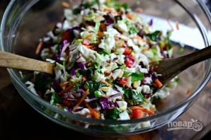 Салат из капусты с орехами - фото шаг 6