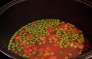"""Фасолевый суп в мультиварке """"Редмонд"""" - фото шаг 2"""