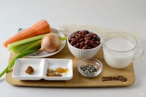 Азиатский суп из фасоли - фото шаг 1