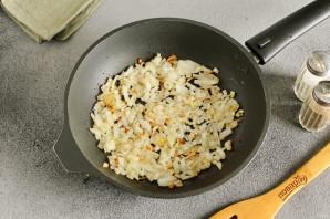 Салат с грибами жареными - фото шаг 2