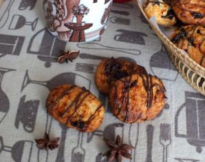 Кокосовое печенье с фруктовой начинкой - фото шаг 13
