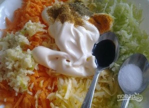 Салат из репы - фото шаг 7