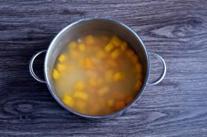 Суп с фасолью и тыквой - фото шаг 5