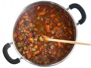 Сытный и питательный овощной суп - фото шаг 4