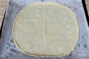 Пицца с рукколой и моцареллой - фото шаг 4