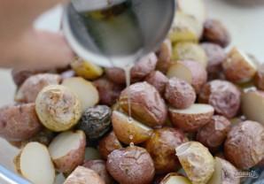 Салат из картофеля и бекона - фото шаг 3