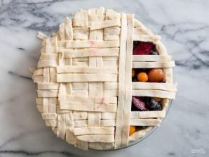 Праздничный пирог с фруктовой начинкой - фото шаг 3