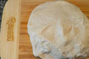 Пирожки-лодочки с сырно-грибной начинкой - фото шаг 1