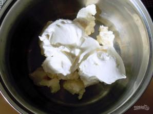 """Торт с джемом и сыром """"Филадельфия"""" - фото шаг 3"""