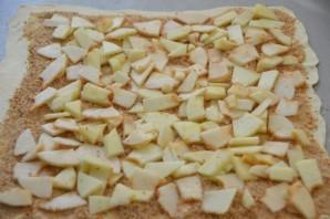 Ленивый яблочный штрудель - фото шаг 11
