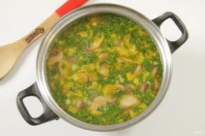 Овсяный суп с грибами - фото шаг 8