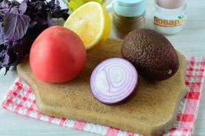 Салат с авокадо и базиликом - фото шаг 1
