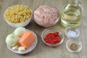 Макароны по-флотски с томатной пастой - фото шаг 1
