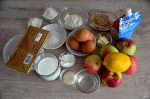 Муссовый яблочный торт - фото шаг 1