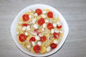 Окунь запеченный с картошкой в духовке - фото шаг 9