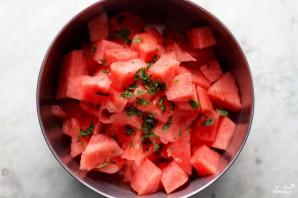 Арбузный салат - фото шаг 1