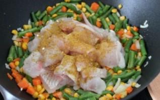 Пангасиус с овощами - фото шаг 3