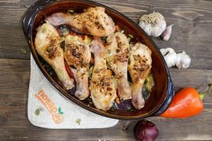 Запеченные куриные голени - фото шаг 7