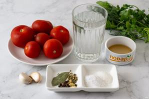 Пряные соленые помидоры - фото шаг 1