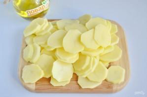 Картофельная запеканка с грибами и чесноком - фото шаг 3
