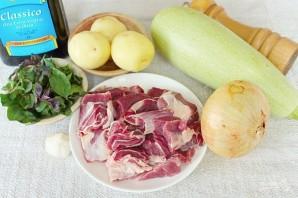 Баранина маринованная и запеченная в рукаве с овощами - фото шаг 1