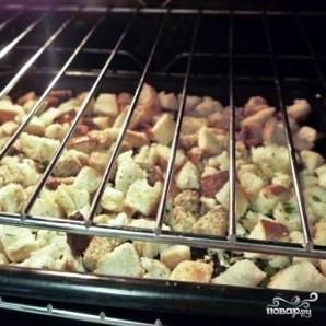 Сухари для салата - фото шаг 8