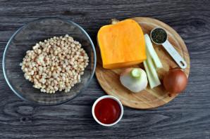 Суп с фасолью и тыквой - фото шаг 1