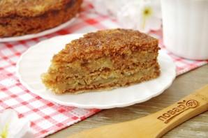 Яблочный пирог из сухого теста - фото шаг 9