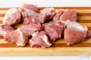 Картофель со свининой по-домашнему - фото шаг 1