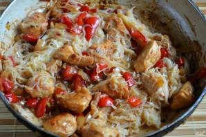 Рисовая лапша с курицей - фото шаг 8