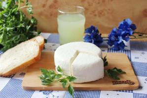 Домашний сыр без яиц - фото шаг 7