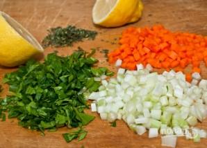 Салат с чечевицей - фото шаг 2