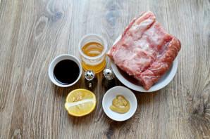 Свинина в медовом маринаде - фото шаг 1
