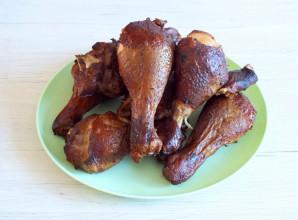 Куриные голени горячего копчения - фото шаг 6