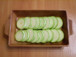 Запеченные кабачки с помидорами - фото шаг 2
