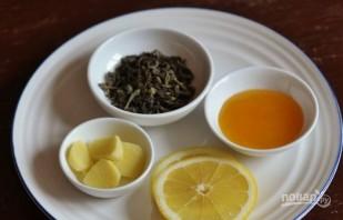 Чай с имбирем и лимоном - фото шаг 4