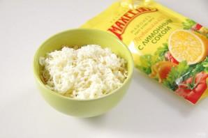 """Закуска """"Сырные шарики"""" с кунжутом и оливками - фото шаг 3"""