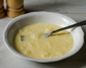 Омлет с лисичками - фото шаг 6