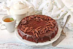 Шоколадный торт на молоке - фото шаг 11