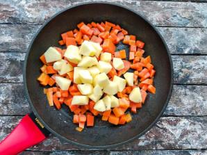Рис с тыквой и яблоками - фото шаг 4