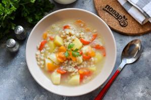 Крестьянский суп с перловкой - фото шаг 7
