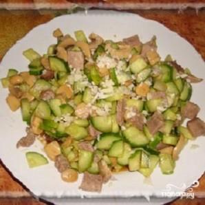 """Китайский салат """"Шаньдун"""" - фото шаг 4"""