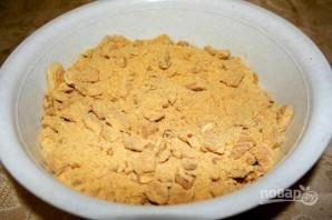 """""""Колбаска"""" из печенья с какао - фото шаг 1"""