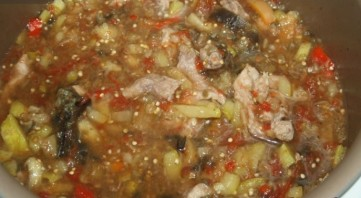 Рагу овощное с телятиной - фото шаг 6